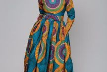 African prints and dresses