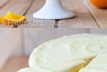 Pasteles de naranja