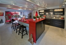 Seeing Red / Asian design kitchen. Designed by Archipelago Hawaii.