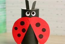 insects paper tubes