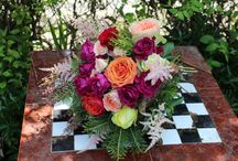 Flowers for events / stunning bride bouquet