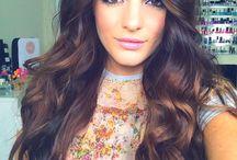 Caramel Brown Hair  / Brunette / Suklaan Ruskeat Hiukset / Brown hair - ruskeat hiukset