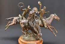 Bronze Statues / Bronze statues from The Eddie Basha Collection