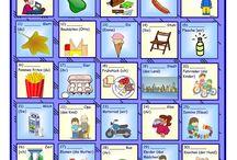 Deutsch - Wortschatz mit Bildern