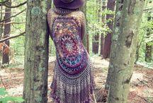 crochet hippy top