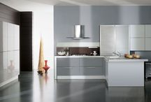 Syntesi / The well-arranged space within the house, where most innovating technologies and advanced solutions have been devised of late. This kitchen project is in keeping with this conception, and is designed to fit all lifestyles, all needs, and all tastes, and to satisfy one's vision of space.