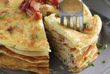 Potato pancakes w/coconut milk
