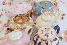 Tea time / Tea parties, tea pots, tea cups