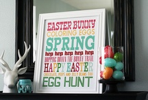 Easter ideas/Spring has sprung