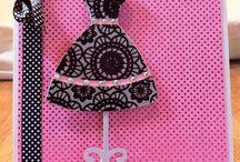 ♥ feminine cards & humorous gals / by Debbie Brown