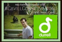 Durrell Wildlife Park Conservation Trust / Henry Cavill Ambassador for Durrell Wildlife Park Conservation Trust  http://cavillconservation.com/