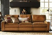 leather / Living Room ideas. / by Emily Serven
