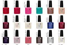 Nails CND Kleurenkaarten / Kleurenkaarten van CND Shellac en Vinylux