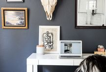 Work space / Carving out a corner of productivity in your home