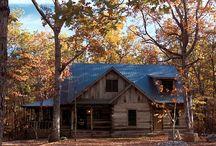 cabin life..