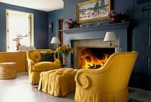 Yellow Chairs For Den