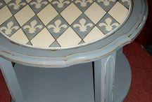 Идеи декора круглых столов