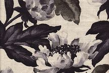 floral patterns, prints, textiles / by Leslie Wormworth