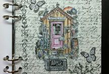 Art Journal/Scrap booking Inspiration / by Georgia Dream .