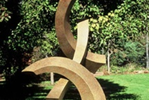 Contemporary Bronze Sculptures / Contemporary bronze sculptures are fabricated, one of a kind, sculptures created by Kevin Robb.  Table top sculpture, garden art, and monumental sculpture.