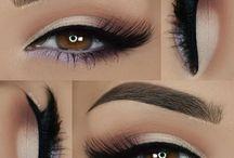 Eye makeup : light