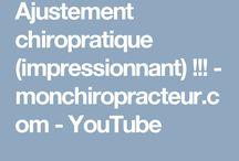 ajustement chiropratique / ajustement chiropratique (impressionnnant) !!! - Pinterest - monchiropracteur.Com Les chiropraticiens savent que les ajustements sont bons pour votre santé en général. Des millions de patients satisfaits ne peuvent pas s'être tous trompés.