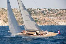 Solar yachting