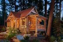 log homes / by Terri Banks