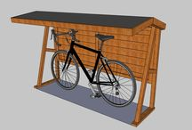 Garáž pre bicykel