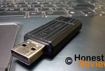 Pen Drives Reviews / Hands-on reviews of USB 2.0 and USB 3.0 Pen drives.