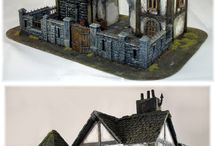 Tabletop scenery / Miniature scennery that I like.   #miniature #scenery #terrain #model #tabletop