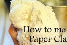 How to make paper mache / video's