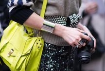 How to Wear Neon / Add Neon to your outfit from a blazer to even nail polish will be fabulous / by Nubry