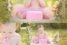 Ivy's one year pictures