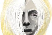 Portraits / digital painting