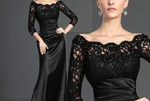 vestidos preto.