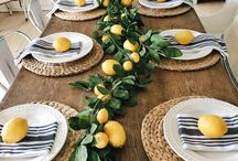 Summer Decor / summer decor ideas