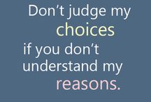 DON'T JUDGE!
