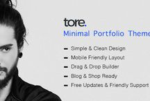 Tore - Minimal Portfolio WordPress Theme by zozothemes / Tore is a Creative Portfolio WordPress Theme for Professionals. It is just as easy to customize to fit your needs. Design your website just how you like it with Drag & Drop Builder (Visual Composer) which included in Financepro. It is ultimate flexible with loads of nice options and features.  Web Site: http://zozothemes.com/tore-minimal-portfolio-wordpress-theme/