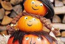 jesenná dekor.tekvice