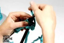 *** Learn to Knit and Crochet ***