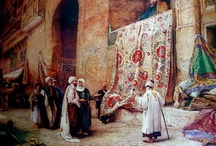 Rug merchants over the centuries / Rug merchants