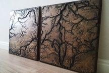 Decorative panels / decorative panels in interior