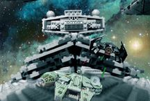 Lego space chase