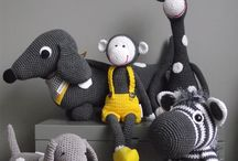 knitted toys / knitting and crochet