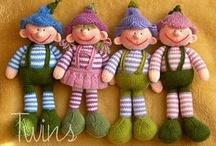 Dolls for me... / by Ansie Z du Toit