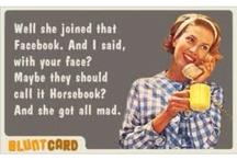 Blunt Card & Retro Card <3