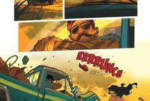 Comic art/pages
