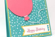 Stampin Up - Remembering your birthday