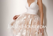 affordable wedding dresses (under $200) / by v ole
